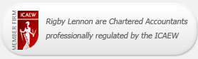 Rigby Lennon are Chartered Accountants professionally regulated by the ICAEW